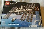 Lego Ideas International Space Station 21321 Nasa Iss Brand New Fast Shipping