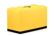 Camco Fasten Leveling Blocks With T-handle 4x2 Yellow 10 Pack