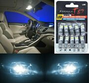Led 3030 Light White 6000k 168 Ten Bulbs Interior Dome Replacement Lamp Upgrade