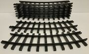 New Bright G Gauge / G Scale Oval Circle Train Track 2 Curved 1980's - 1990's