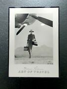 Norman Parkinson 1980and039s Lithograph Print Framed Poster Art Of Travel 1951