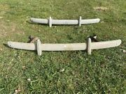 1940and039s Ford Coupe / Sedan Front And Rear Bumpers Original