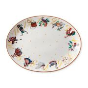 Williams Sonoma 12 Days Of Christmas Oval Serving Platter -new