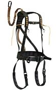 Muddy Safeguard Harness Youth Tree Climbing Safety Harness Hunting Tree Stand-