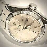 Rolex Ladies Oyster Precision Stainless Ref6410 Runs Beautifully C 1966