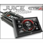 Edge Products 21500 Juice Tuner With Attitude Cts2 For Chevy Duramax 6.6l New