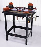 Jessem Mast-r-lift Ii Excel Router Table W/clear Cut Guides Mast-r-fence Ii