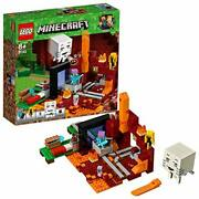 Lego Minecraft The Nether Portal 21143 Block Toy From Japan New O37