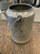 Vintage 9 Cup Comet Aluminum Percolator Coffee Pot Camping Wire Handles Stove