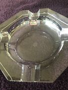 Baccarat Crystal Octagonal Cigar Ashtray For 4 - New In Box