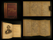 1884 Confederate War Papers General G. Smith Signed Battle Seven Pines Civil War