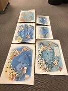 Original Set Of 6 Pageant Of The Pacific Art Maps Miguel Covarrubias Circa 1940