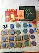 Settlers For Satan Settlers Of Catan Alt Hex Set 8 Of 75 Ready To Play Complete