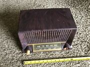 1950 Ge Tube Radio Model 404 Turns On But Doesnandrsquot Get Station Maybe Tube Replacm