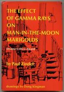 Paul Zindel / Effect Of Gamma Rays On Man-in-the-moon Marigolds Signed 1st 1971