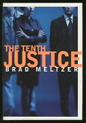 Brad Meltzer / The Tenth Justice Signed 1st Edition 1997
