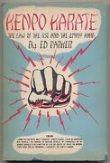 Ed Parker / Law Of The Fist And The Empty Hand A Book On Kenpo Karate 1st 1960