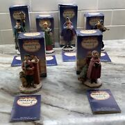 Fontanini From Roman Bristol Falls Lot 6 The Carolers Society Boxes And Booklets