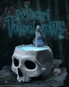 Warm Thoughts By Death And Milk Geisha Figure Toy Collectible Skull