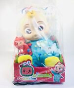 Cocomelon Musical Bedtime Jj Plush Soft Body Doll Yes Yes Bedtime Song New