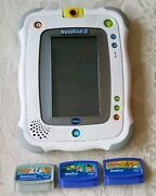 Vtech Innotab 2 Tablet Plus Scooby Doo And Jake And The Netherland Pirates Games
