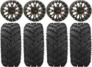 System 3 St-3 Bronze 14 Wheels 28 Reptile Tires Yamaha Grizzly Rhino
