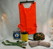 Hunting Suspenders Socks Thermos Vest Pouch Bag 7 Items S9447