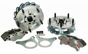 Jamar Dune Buggy Sand Rail Billet Rear Brakes 4 Piston For Vw Type 1 Short Axle