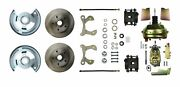 Right Stuff Detailing Chevy Car 1959-64 Disc Front Brake System P/n Fsc59dcc