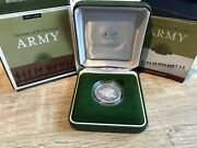 2001 Centenary Of The Australian Army One Dollar Fine Silver Proof Coin