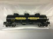 """Roundhouse 1729 Ho Scale """"gatx"""" 3 Dome Tank Car Rd.722"""