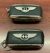 Bentley Keyless Entry Remote 2 3 Button And 2 Button Key Fobs Total Of 2 Keys