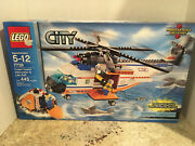 2008 Lego City Coast Guard Helicopter And Life Raft 7738 Nib, Retired, Great Gift