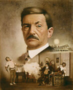 Don Crowley Pat Garrett The Making Of A Legend Limited Edition Canvas Signed