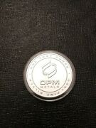Opm Metals - 1-one Troy Ounce .999 Fine Silver Round - Made In The Usa - 6