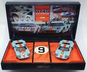 Fly 1/32 Scale Slot Cars 96016 - Ford Gt40 24h Le Mans 1968 - Team Gulf
