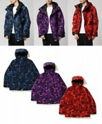 A Bathing Ape Menand039s Snowboarding Jacket Color Camo 3 Colors Fast Shipping Japan
