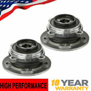 2pc Front Wheel Hub And Bearing Assembly For 2017 2018 2019 Bmw X1 X2 Mini Cooper