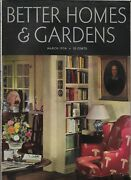 Better Homes And Gardens March 1936 Lakeside Home Tailored For Tea Beautiful Ads
