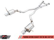 Awe Touring Edition Exhaust Chrome Silver Tips For Jeep Grand Cherokee Srt
