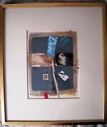 F M Sielsky Mid Century Collage Pollack Gallery 1962 Dove Rare Listed
