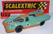 Scalextric Spain Altaya Cars Mythical Porsche 917 22 Gulf Lted. Ed