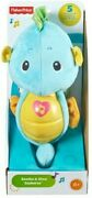 Fisher Price - Soothe N Glow Seahorse, Blue [used Very Good Toy] Blue, Plush,