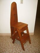 Vintage Wood Ibssl Ironing Board-step Stool-ladder And Chair By Grandpa's Crafts