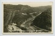 Gauley Bridge Wv - Early New River Canyon View - Old Mining Quarry Rppc