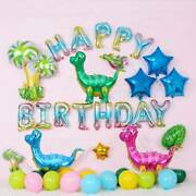 4d Dinosaur Foil Balloons Big Size Balloon Baby Shower Birthday Party Decoration