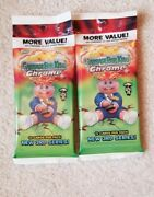 🔥2020 Topps Chrome Garbage Pail Kids Series 3 Cello Pack Lot Of 2 Sealed Inhand