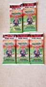 🔥2020 Topps Chrome Garbage Pail Kids Series 3 Cello Pack Lot Of 5 Sealed Inhand