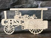 Antique Case Steam Tractor Farm New Wood Toy Puzzle Hand Made Usa 14 Parts