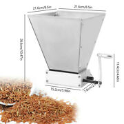 Hand Mill Wet Dry Cereal Grinder Rice Corn Grain Coffee Wheat Homebrewer Crusher